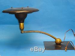 Vintage M. G. Wheeler Sight Light Mid-century Industrial Design Table Lamp Works