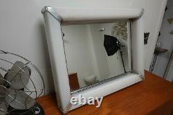 Vintage MCM General Bathroom Products Medicine Cabinet Mirror WithLight