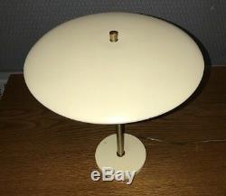 Vintage MG Wheeler UFO Sight Light Table Desk Lamp Mid Century Modern Tested