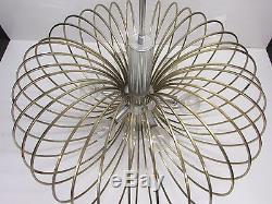 Vintage MID Century Modern Hanging Light Fixture, Sputnik Atomic