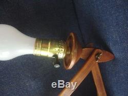 Vintage Mid Century Danish Le Klint Teak Scissor Wall Light