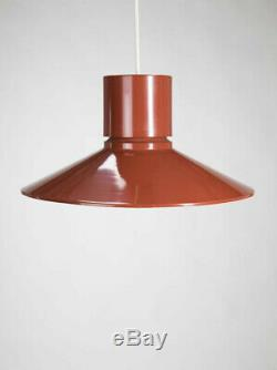 Vintage Mid-Century LIGHTOLIER Gerald THURSTON Ceiling PENDANT LIGHT