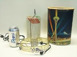 Vintage Mid Century Modern 1962 Econolite Seattle World's Fair Motion Lamp Light