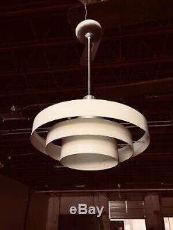 Vintage Mid-Century Modern Atomic Pendant Light Fixture