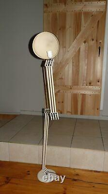 Vintage Mid Century Modern Erazio COSMO Lighting Italian Floor Lamp Swivel Light