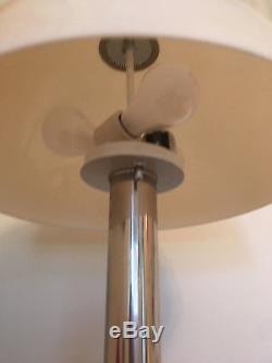 Vintage Mid-Century Modern Laurel Lamp Chrome Mushroom Floor Lamp Light