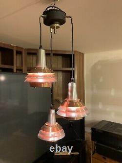 Vintage Mid Century Modern Unbranded Pendant Light From The 60S Era. Fog & Morup