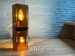 Vintage Pair of Meblo Guzzini Sconce Space Age Lamp Design Light Mid Century