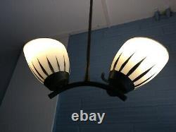 Vintage Pendant Lamp Antique Design Light Mid Century Pop Ceiling