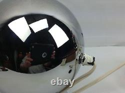 Vintage RAAK 1970s Chrome Eyeball Space Desk Table Lamp Retro Mid-Century Light