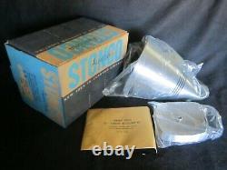 Vintage Retro MID Century Stonco 9 1/4 Cone Spotlight Light Fixture, Nos