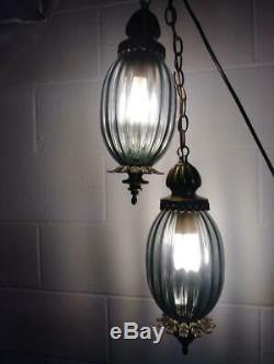 Vintage Swag Pendant Hanging Lights Retro Hanging Lamps MID Century