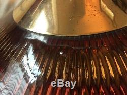 Vtg 1960's Honeycomb MOE Light Hanging 22 Chandelier UFO Mid Century Modern
