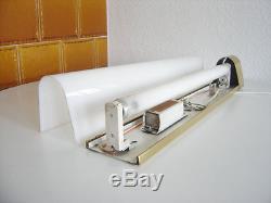 XL Mid Century Modern KINOLEUCHTE Wandlampe WALL LIGHT mit Leuchtstoffröhre 50er
